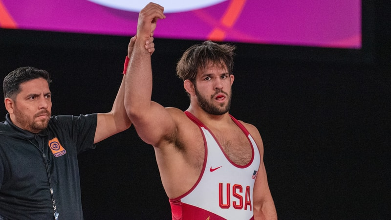 USA grabs three men's freestyle golds at Pan Am Olympic Qualifier